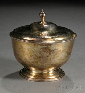 Irish Silver and Parcel-gilt Covered Bowl