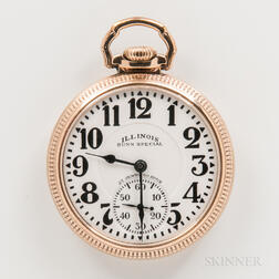 Illinois Watch Co. Sixty-hour Bunn Special