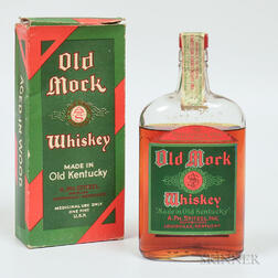Old Mork 17 Years Old 1916, 1 pint bottle (oc)