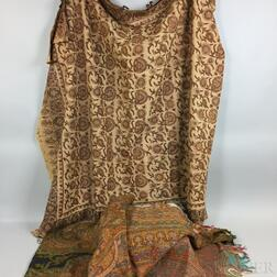 Two Small Shawls.     Estimate $250-350