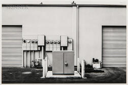 Lewis Baltz (American, 1945-2014)      North Wall, Niguel Hardware, 26087 Getty Drive, Laguna Niguel