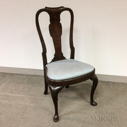 George II Mahogany Side Chair