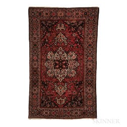 Antique Sarouk Rug