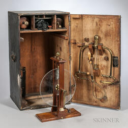 Cuthbertson's-style Portable Boxed Electrostatic Generator
