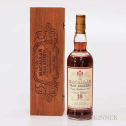 Macallan Gran Reserva 18 Years Old 1979, 1 750ml bottle (owc)
