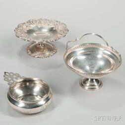 Three Pieces of Sterling Silver Tableware