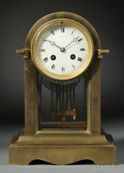 Tiffany & Company Brass Mantel Clock