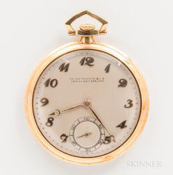 Patek Philippe & Co. 18kt Gold Open-face Pocket Watch