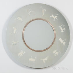 Zodiac Mirror After Gio Ponti