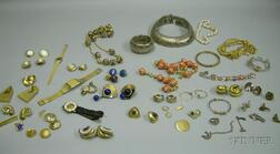 Group of Vintage to Modern Costume Jewelry and Watches