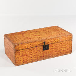 Paint-decorated Flat-top Trunk