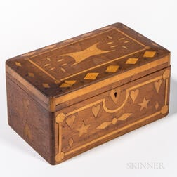 Inlaid Sailor-made Box
