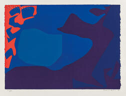 Patrick Heron (British, 1920-1999)      January 1973: 3