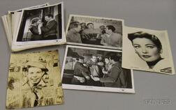 Approximately Seventy-one Movie Studio and Entertainment Publicity   Still Photographs