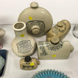 Five Royal Doulton Ceramic Warmers and Inhalers