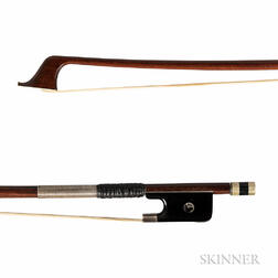 French Silver-mounted Violoncello Bow