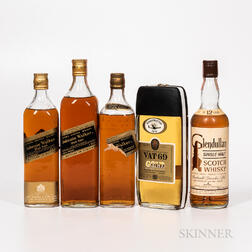Mixed Scotch, 1 quart bottle 3 4/5 quart bottles 1 750ml bottle Spirits cannot be shipped. Please see http://bit.ly/sk-spirits for m...