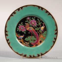 Wedgwood Fairyland Lustre Argus Pheasant Bone China Plate