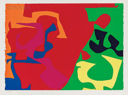 Patrick Heron (British, 1920-1999)      January 1973: 7