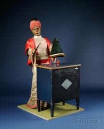 Near Life-size Magician Automaton from the Film Sleuth