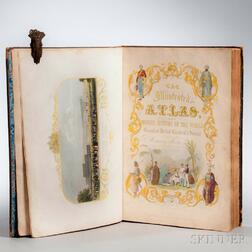 Martin, R. Montgomery (1803-1868) The Illustrated Atlas, and Modern History of the World.