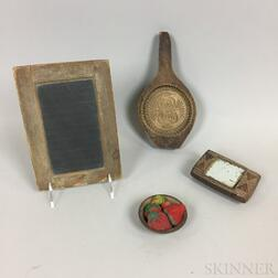 Four Small Decorative Items