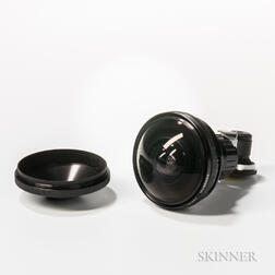 Nikkor Fish-eye Lens with Finder