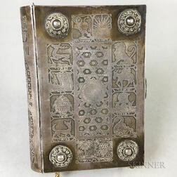 Israeli Silver-covered Book