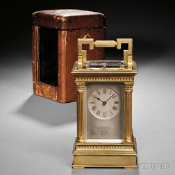 William Bond & Son Carriage Clock