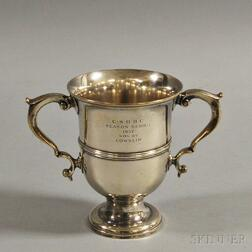 Tiffany & Co. Sterling Silver Sports Trophy, 1937 CSHBC Cowslip Series