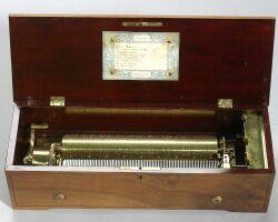 Early Lever-Wind Musical Box by Lecoultre