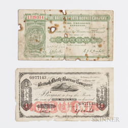 Two British North Borneo Company Notes