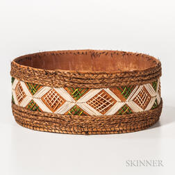 Ojibwa Birch Bark Container