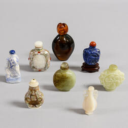 Eight Snuff Bottles