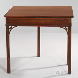 Mahogany Games Table