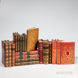 Decorative Bindings, Eighteen Volumes.
