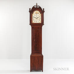 Mahogany-grained Tall Clock