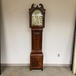 Mahogany Scottish Long Case Clock