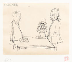 John Lennon (British, 1940-1980)      Two Prints: I Do