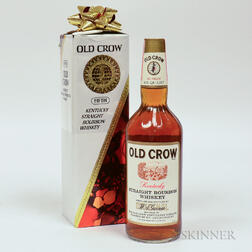 Old Crow 4 Years Old, 1 4/5 quart bottle (oc)