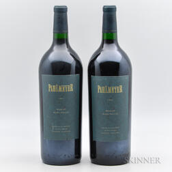 Pahlmeyer Merlot 1995, 2 magnums