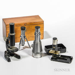 Four Microscopes