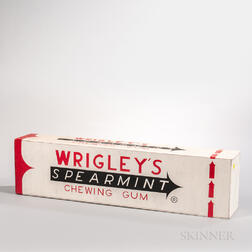 Wrigley's Gum Advertising Sign