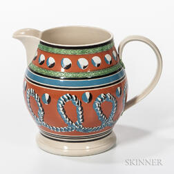 Don Carpentier Slip-decorated Jug