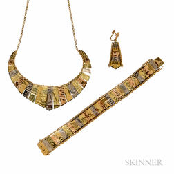 14kt Tricolor Gold Jewelry