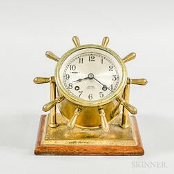 Chelsea Ship's Bell Desk Clock