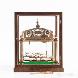 Congreve Rolling Ball Clock by Cannon Craft