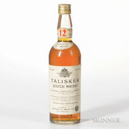 Talisker 12 Years Old, 1 4/5 quart bottle