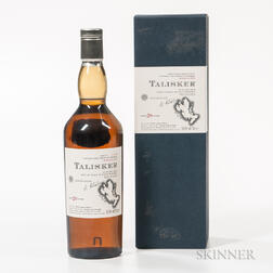 Talisker 20 Years Old 1982, 1 750ml bottle (oc)