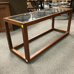 Contemporary Teak Coffee Table